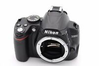 Nikon D D3000 10.2MP Digital SLR Camera - Black (Body Only) - Shutter Count:1750