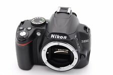 Nikon D D3000 10.2MP Digital SLR Camera - Black (Body Only) - Shutter Count:1750