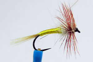 1x Mouche de Peche Sèche Tups Indispensable  H14/16 BARBLESS hook mosca fly