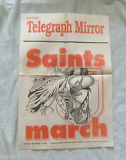 #T83.  1992 ST GEORGE RUGBY LEAGUE NEWSPAPER POSTER