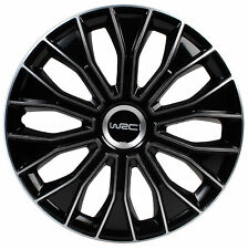 WRC scatola di 4 copricerchi bicolore per tutti i tipi di ruota 13 pollici n°5