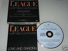 THE LEAGUE UNLIMITED ORCHESTRA LOVE AND DANCING CD CDOVED 6 MIT HARD TIMES (YZ)