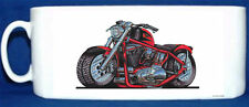 KOOLART - HARLEY SPORTSTER -  GLOSSY PHOTO MUG - RED