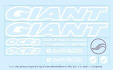 Giant Bicycle Decals-Transfers-Stickers #1