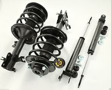 Set 4 Complete Struts W/Springs and Rear Shocks for 2006 Nissan Altima Quik Fit