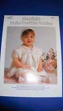 Hayfield baby Dress Bloomer & Boonet Knitting Pattern 2622