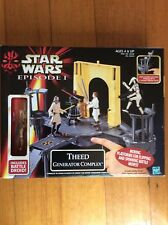 Star Wars Episode 1 Theed Generator Complex Playset Includes Battle Droid