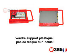 """caddy Support adaptateur disque dur 2.5"""" to 3.5""""  SSD - HDD 2.5"""" vers 3.5"""""""