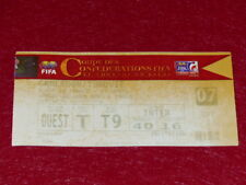 [COLLECTION SPORT FOOT] TICKET CAMEROUN / TURQUIE 21 JUIN 2003 COUPE CONFED FIFA