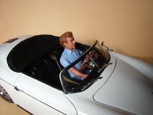 1/18  FIGURE  JAMES DEAN  DRIVING  VROOM  FOR  EXOTO  MINICHAMPS  AUTOART  NOREV