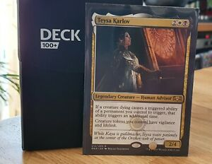 Magic The Gathering MTG, EDH / Commander Deck - Teysa Karlov