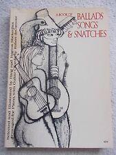 61 Ballads Songs Snatches Around World Voice Piano Guitar Unmarked