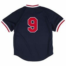 383df972 Mitchell & Ness Ted Williams 1990 Authentic Mesh BP Jersey Boston Red Sox  52 2xl
