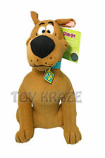 "SCOOBY-DOO PLUSH! BROWN DOG MEDIUM SOFT DOLL TOY 12"" NEW"
