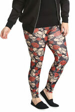 Hosengröße Größe 46 Damen-Leggings aus Polyester in Übergröße
