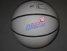 Shoni Schimmel Atlanta Dream WNBA Signed Basketball Hologram COA Make Offer