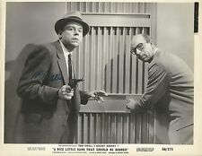 Tom Ewell signed A Nice Little Bank That Should Be Robbed still photo /autograph
