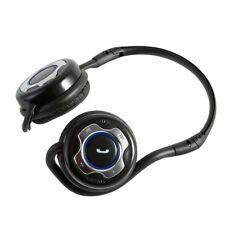 SLIM Bluetooth Wireless Stereo Headphones Headset For iPhone iPad Samsung Galaxy