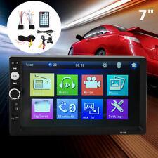 "AU 7"" 2 Din Car Player Radio Stereo MP5 AUX USB Bluetooth W/Rearview Camera"