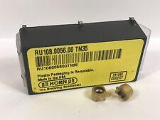 PH HORN RU108.0056.00 New Carbide Inserts Grade TN35 2pcs AB
