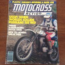 MOTOCROSS ACTION NOVEMBER 1978 250 USGP 125 MID OHIO WORKS BIKES 1979 DG CATALOG