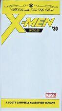 X-Men Gold #30 Variant Unread SEALED FIRST PRINT J Scott Campbell POLYBAG
