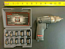 New Listingingersoll Rand Ir2101k 14 Mini Impact Wrench Kit With Impact Sockets