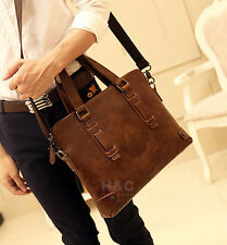 Men's Business Attache Case Satchel Briefcase Messenger Bag Shoulder Laptop Bag