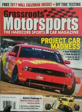 Grassroots Motorsports Feb 2017 Project Car Madness Build It FREE SHIPPING sb