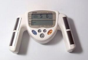 Omron HBF-306C Digital Fat Loss Monitor BMI Body Fat Percent Analyzer White
