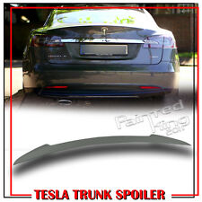 Painted For Tesla Model S Sport 4DR Trunk Boot Spoiler 2017 P85D