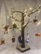 Disney's Beauty And The Beast Set Of 12 Children's Christmas tree decorations