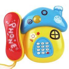 Children Early Learning Mushroom Telephone Music Lighting Educational Kids Toy