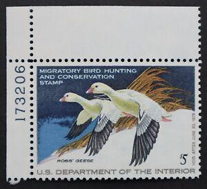U.S. Mint #RW44 $5 Federal Duck Hunting Plate #. Superb. NH. A Gem! Scott:$16.00