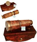 "Vintage 15"" Brass Nautical Pirate Spy glass Telescope Home Décor gift Replica"