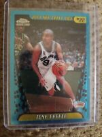 2001 Topps Chrome #155 Tony Parker Rookie Card