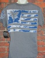 NEW MENS RAW STATE REDEMPTION GRAY T-SHIRT SIZE M