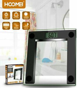 Bilancia Persapersone Elettronica in Vetro Temperato Display Digitale LCD HM1510