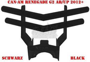 X-TREME FRONTBUMPER CAN-AM RENEGADE G2 STEEL/STAHL COLOR/FARBE BLACK LAGERWARE