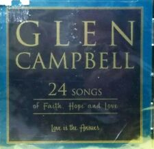 GLEN CAMPBELL  24 Songs of Faith, Hope and Love CD 2003   BRAND NEW / SEALED