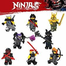 Ninja Royal Go Mini Figures sets - 8 Mini Ninja Warriors mini figs Lego New