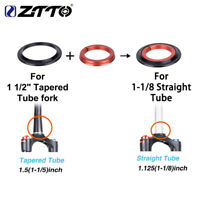 "1pk ZTTO 4252ST Bicycle Bearing Headset 42mm52mm 1 1/8""-1 1/2"" Tapered Tube fork"