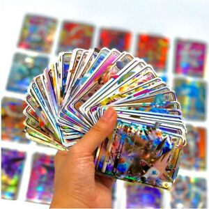 English 300 PCs no Repeat Pokemon Card GX Shining Takara Tomy  Battle Card Game