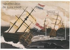 (91729) Angola MNH angola Quatro Dias de Luta Minisheet unmounted mint