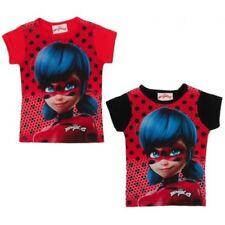Camiseta de niña de 2 a 16 años de manga corta color principal negro