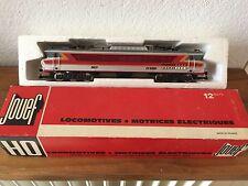 ancienne locomotive motrice electrique JOUef dans sa boite ref 8436M
