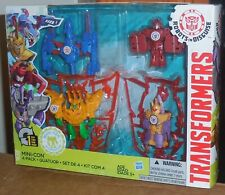 Transformers Robots In Disguise QUATUOR BASHBREAKER Mosc Mini Con Rid 2015