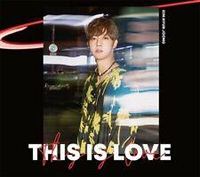 KIM HYUN JOONG THIS IS LOVE (Type-A) JAPAN CD Free Shipping