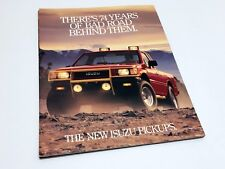1988 Isuzu 4x4 Standard Bed Long Bed 1-Ton Long Bed Spacecab Pickup Brochure