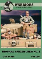 Warriors 1:35 Tropical Panzer Crew No.1 Resin 1 Figure 2 Bust Kit #35160